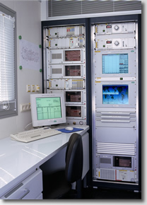 Feldlabor Geräteturm