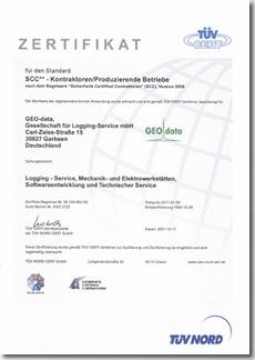GSU Zertifikat