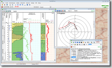 GEO-data Software Screenshot